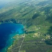 Aerial View of the Big Island